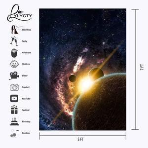 Image 3 - 5x7ft כוכבים שמיים רקע כהה צבע קוסמי מדע צילום רקע סטודיו צילום רקע אבזרי