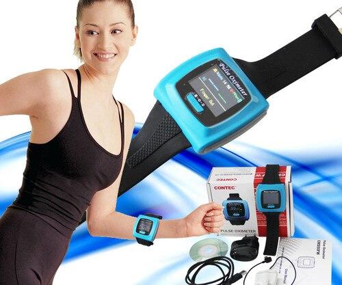 NEW Contec CMS50FW Wrist Spo2 Monitor / Wearable Pulse Oximeter/ Oxigen Oximeter w/ Wireless Function