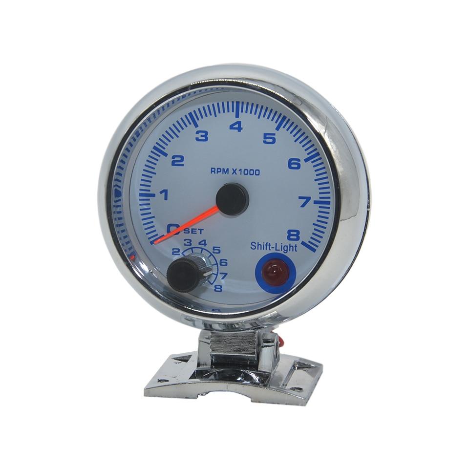 """Dragon gauge 3,7""""(95 мм) Высокоскоростной шаговый Автомобильный Тахометр, Датчик Оборотов, Mete Racing, ремонт"""