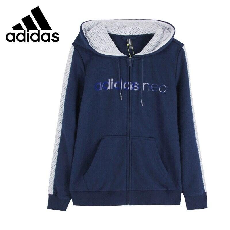 Original New Arrival Adidas Neo Label W FV ZIP HOODY Women's