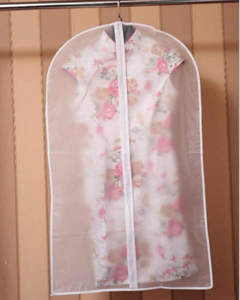 1 sztuk ubrania kurz pokrywa torba do przechowywania do domu do odzieży garsonka ubrania płaszcz Case pojemnik organizator przechowywania