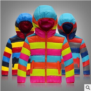 8378ae8e7 2016 Winter New Boys Girl Down & Parkas Jacket Multicolor Warm Thicken  Hooded Casual Boy Padded Coat Outerwear Down Coat-in Down & Parkas from  Mother & Kids ...