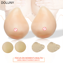 купить Artificial Silicone Breast Form Supports Spiral Silicone Fake Breast Prosthesis 170g 580g Super Soft Chest Pad D30 по цене 306.12 рублей