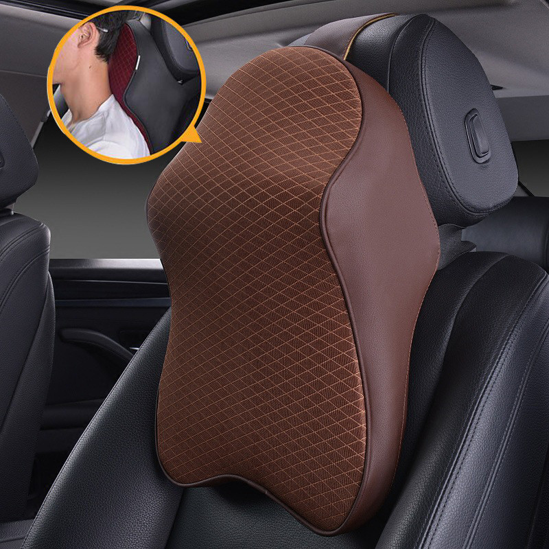 Memory Foam Autos Seat Pillow Neck Back Car Home Office Support Head Rest Massage Cushion for VW /BMW/AUDI/FORD Neck Pillow naturehike massage pillow memory foam u shaped airplane head rest neck pillows travel accessories