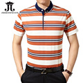 Summer Men polo shirts short sleeve half polo anti-shrink 2017 men's polo shirt striped slim collar polo XXXL camisa homme M-3XL