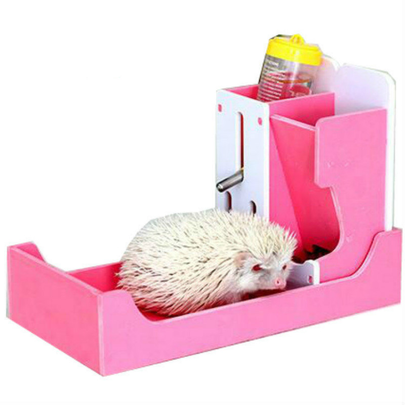 Mini hedgehog Lavabo Wc distributore di Acqua bollitore bollitore Criceto cavia Piccolo animale domestico, Tra Cui il 80 ML di acqua bollitore