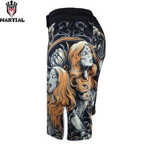 Шорты для ММА, оригинальный дизайн, Муай Тай, боксерские шорты из полиэстера, одежда для ММА, индивидуальная одежда для боев