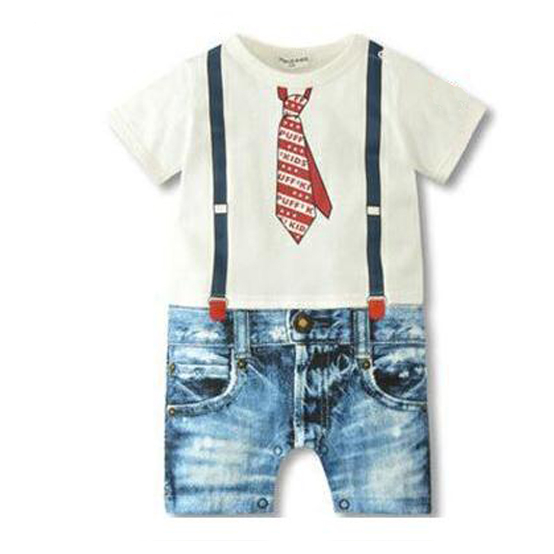 Baby Rompers Hot Sale New Summer Baby Clothing Baby Boys