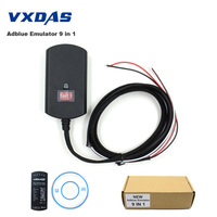 VXDAS Adblue Emulador Adblue 9 en 1 Universal NO NECESITA CUALQUIER SOFTWARE 9in1 Truck AdBlue Emulación Caja de Camión de Trabajo Pesado escáner