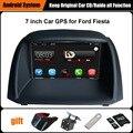 Actualizado Original Juego Reproductor multimedia Del Coche de Navegación GPS Del Coche para Ford Fiesta Ayuda WiFi Smartphone Espejo-link Bluetooth
