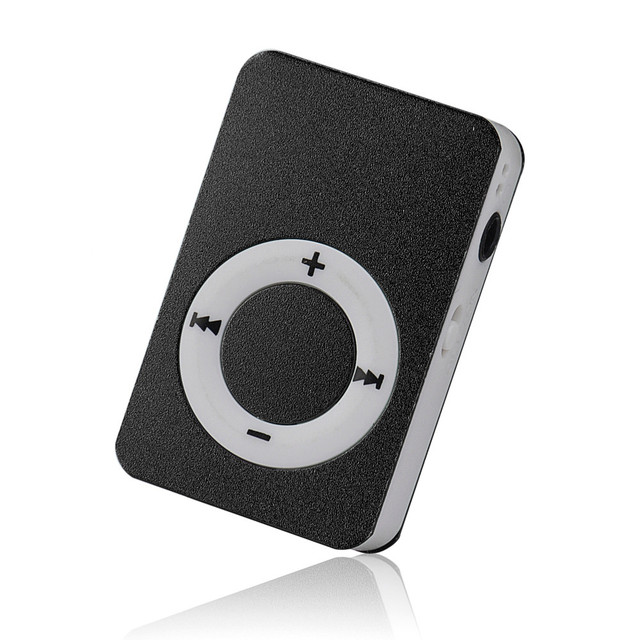 Hot Sale Portable USB Digital Mini Mp3 Music Player Reproductor Mp3 Player  Support 8GB Micro SD