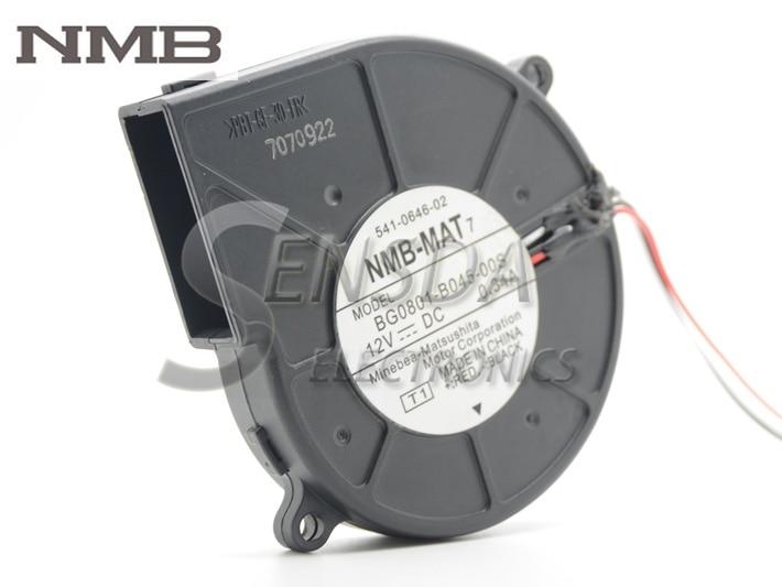 NMB T2000 541-0645 BG0801-B045-00S 12V 0.34A Ventilatora ventilators