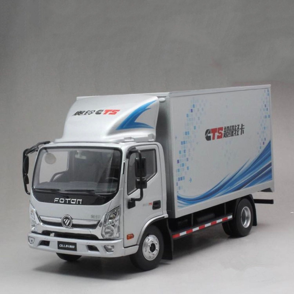 Collectible Alloy Toy Model Gift 1:24  Foton Ollin CTS Delivery Van Truck Vehicles DieCast Toy Model For Display, DecorationCollectible Alloy Toy Model Gift 1:24  Foton Ollin CTS Delivery Van Truck Vehicles DieCast Toy Model For Display, Decoration