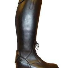 Ботинки в жокейском стиле из натуральной кожи лучшего качества; высокие сапоги для верховой езды; кожаные леггинсы