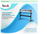 TENETH laser cutting plotter with auto contour cutter /large format cutting plotter with USB interface