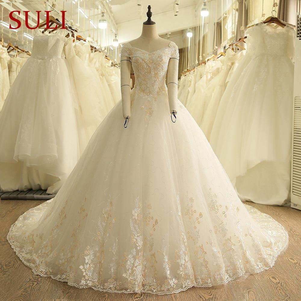Best Time To Buy Wedding Dress: Aliexpress.com : Buy SL 9005 Vintage Off The Shoulder Gold
