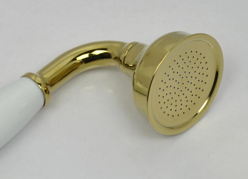 High quality Brass Ceramics Telephone shower head Handheld Shower ...