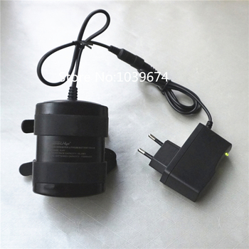 Free Charger for Waterproof 8.4V 13200MAH Li-ion lithium ion 18650*6 Rechargeable Battery DC5.5*2.1 for Flashlights Power Source
