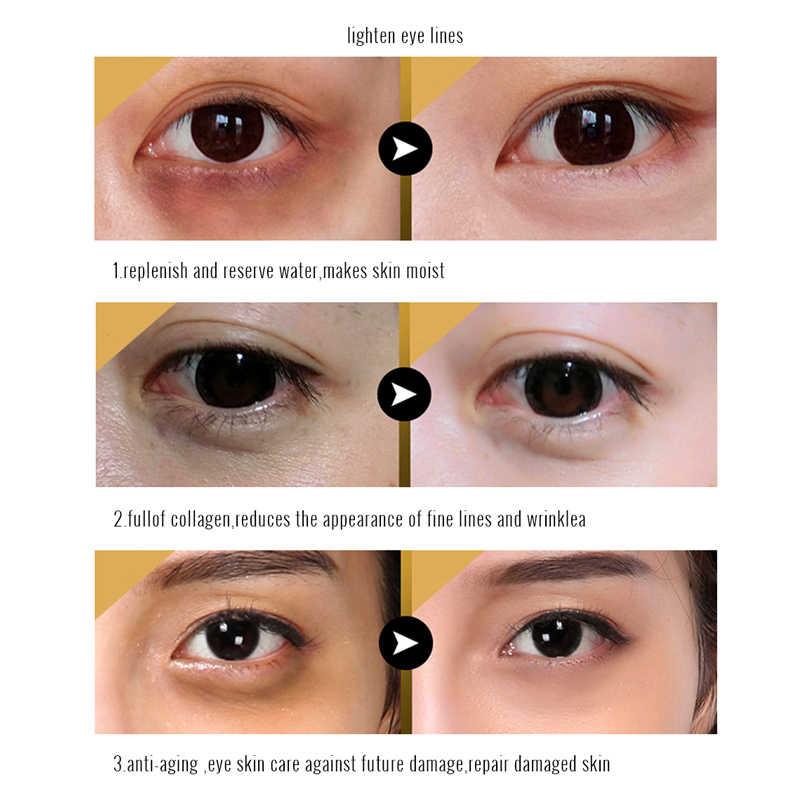Золотые Маски Кристалл Коллаген маска для глаз анти-морщины вокруг глаз патчи для Маскарадная маска удалить черный Уход за глазами