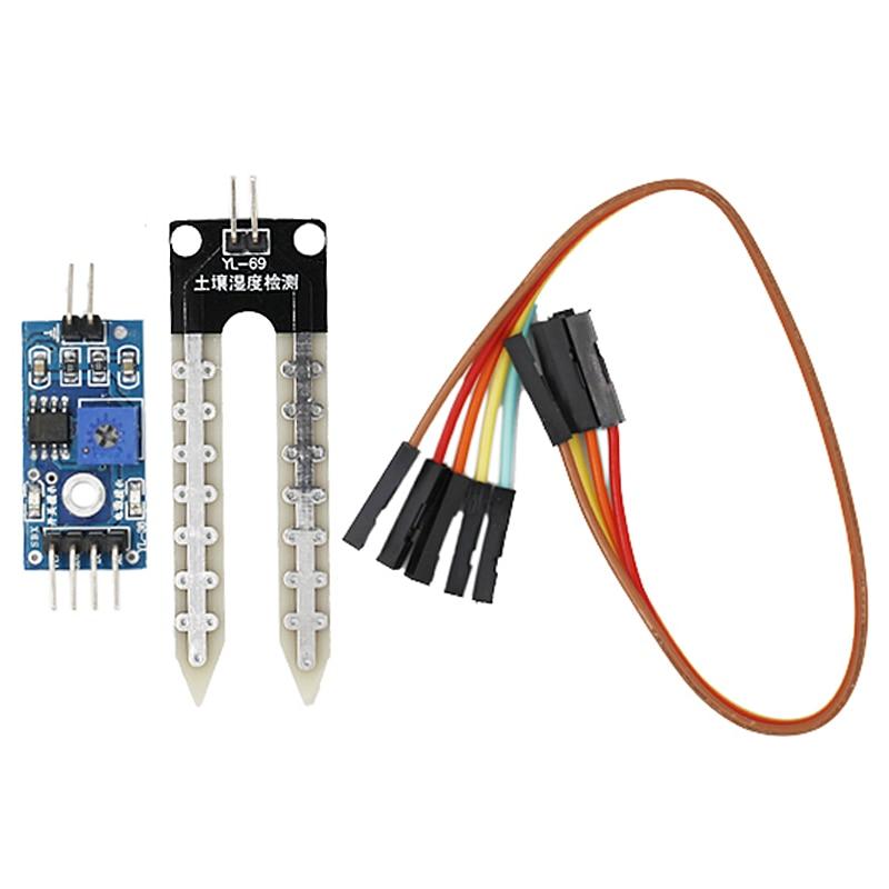Soil Humidity Hygrometer Detection Module Moisture Water Sensor Soil Moisture Test Tool For Arduino 39%off