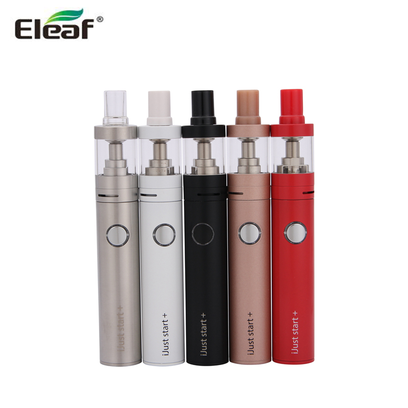 D'origine Eleaf iJust Commencer, Plus kit 1600 mah Batterie 2.5 ml GS Air 2 Atomiseur 510 fil ijust série de début