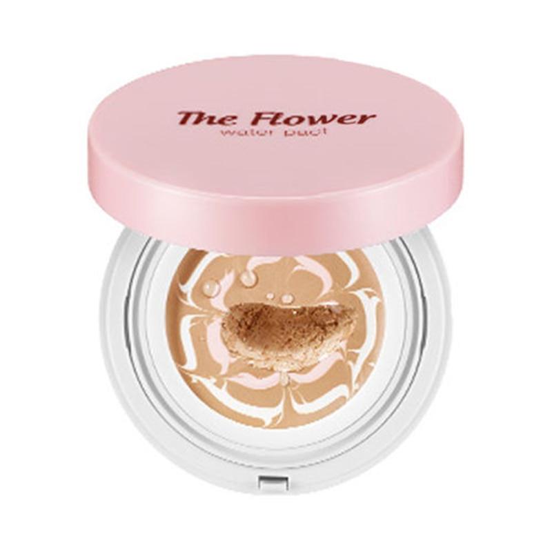 SECRET KEY The Flower Water Pact (SPF50+/PA+++) Air Cushion BB Cream Skin Brighten Moisturizer Concealer Base Face Makeup 1pcs