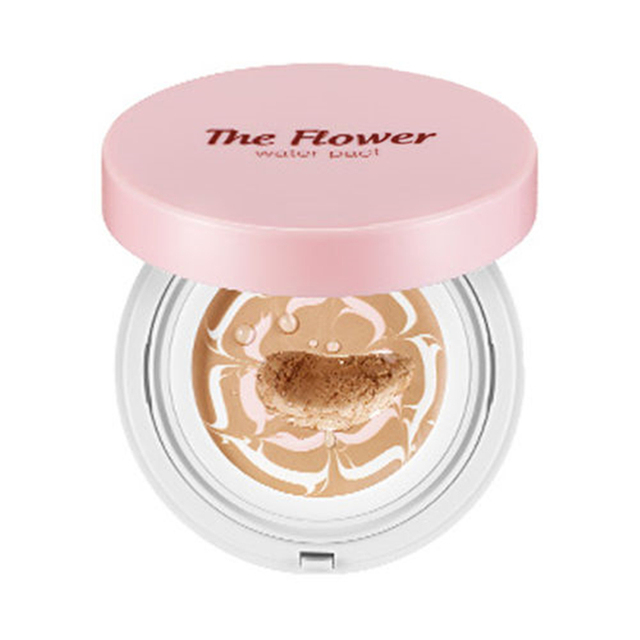 SECRET KEY The Flower Water Pact (SPF50+/PA+++) Foundation BB Cream Skin Brighten Moisturizer Concealer Base Face Makeup 1pcs