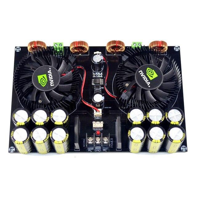 KYYSLB TDA8954 420W + 420W 2,0 Class D Digital Power Amplifier Board (Lüfter Kühlung) AC12.5V zu AC26V Verstärker Bord