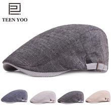 Beret Baseball England Elderly-Hats Autumn Retro Winter Cotton Women Fashion Solid Adult