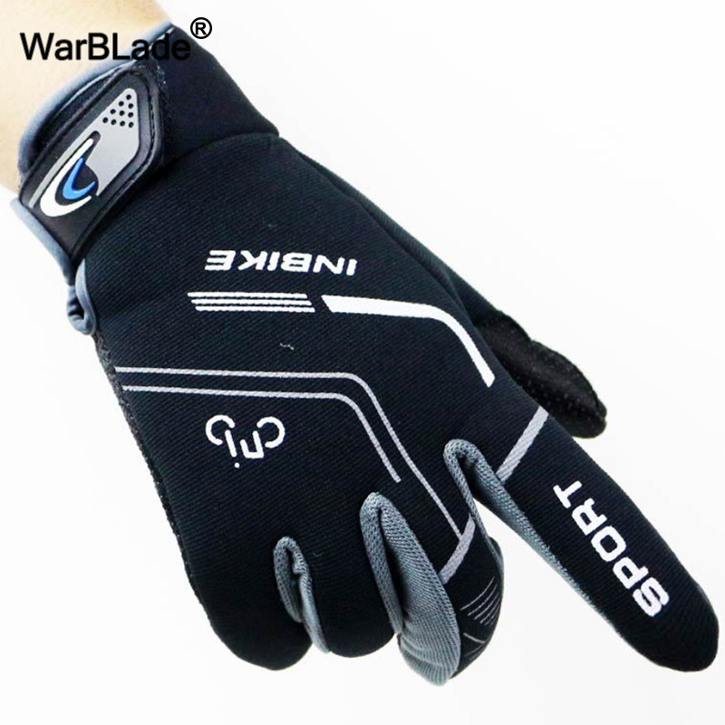 Full Finger Gym Gloves Anti Slip Windproof Thermal Warm Touchscreen Glove Men Women Autumn Winter Outdoor Sports Exercise Gloves
