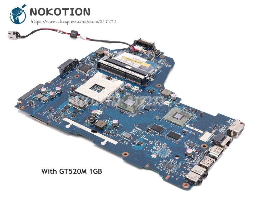Laptop Motherboard Original FÜr Toshiba FÜr Satellite C660 A660 A665 Laptop Motherboard Ddr3 K000128440 Pwwha La-7201p 100% Arbeit Perfekt Laptop Zubehör