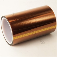 FLASHFORGE Polyimide Tape for DIY FLASHFORGE 3D printer Heat resistant Golden 150mm*30m