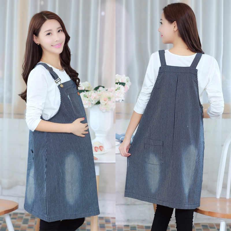 Мода плюс размер одежды для беременных осенние и зимние для беременных  брекеты юбка джинсовая для беременных f4ba6a4d4072a
