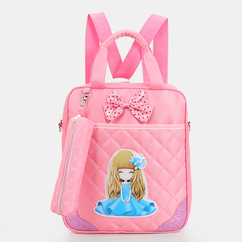 cartoon kids school bag boys/girls art book bags handbags multifunction children school shoulder bag backpack PT903