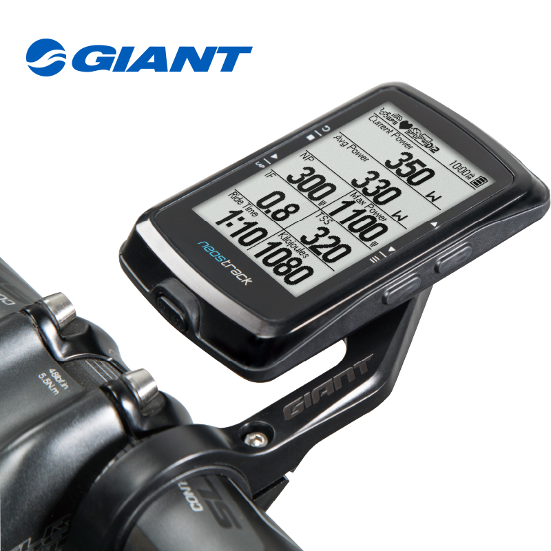 цена Giant computer Neostrack GPS Bicycle Computer Ant+ Bluetooth Black Cycling Equipment compter