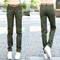 Multi-bolso das mulheres do verão soltas calça casual calças ferramental Camuflagem exterior calças Calças retas mulheres Calças militares Z957