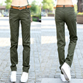 Summer women's multi-pocket loose casual pants outside tooling Camouflage military trousers straight Pants women Trousers Z957
