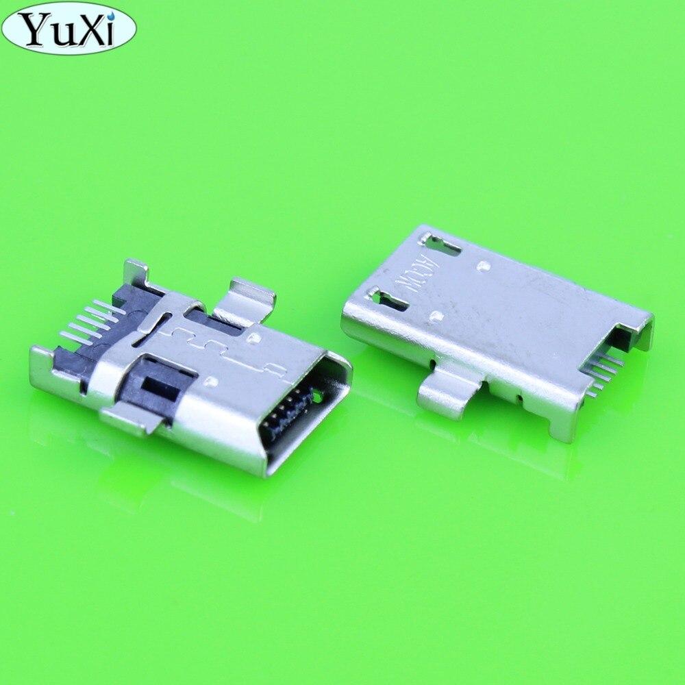YuXi 5-100pcs/lot Micro USB Jack connector for Asus ZENPAD 8.0 Z380C P022 Z300CG Z300CL