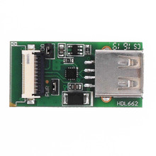 USB כדי FCC 10Pin 1.0mm מתאם לוח HDL662B אחת USB כדי 10Pin_1.0 FCC באגים ממשק HDL662