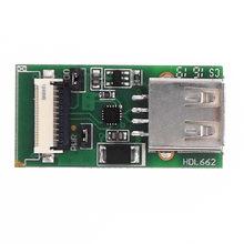 USB do FCC 10Pin 1.0mm płytka przyłączeniowa HDL662B USB do 10Pin_1.0 FCC interfejs debugowania HDL662