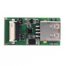 USB zu FCC 10Pin 1,0mm adapter board HDL662B einzigen USB zu 10Pin_1.0 FCC Debug interface HDL662
