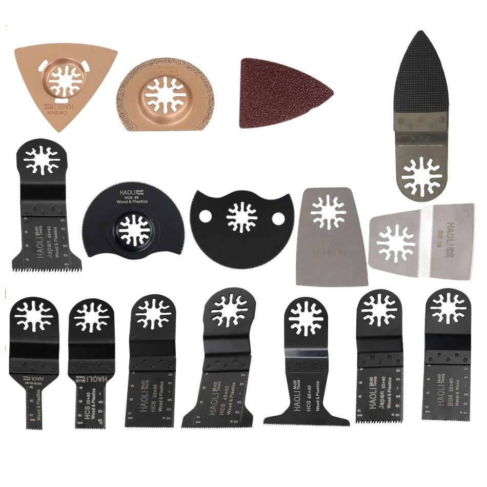 40 pcs kit oscillating multi tool saw blades for renovator. Black Bedroom Furniture Sets. Home Design Ideas