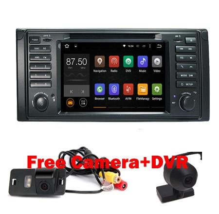 imágenes para Precio de fábrica 1024x600 HD de Pantalla Táctil Android 5.1 Del Coche DVD GPS para BMW E53 X5 E39 Android Wifi 3G Bluetooth Radio RDS IPOD USB