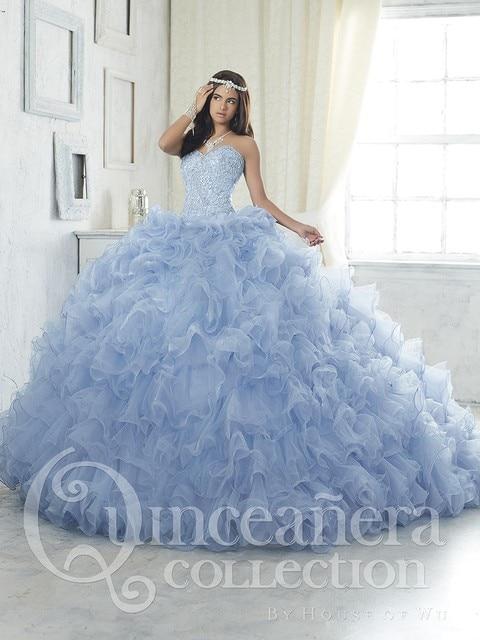Novo Sexy Cristal vestido de Baile Vestidos Quinceanera 2017 Com Beading Lantejoulas Sweet 16 Vestidos Para 15 Anos Vestidos De 15 Años QD37