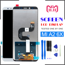 LCD for Xiaomi A2 Mi A2 Display Touch Screen Panel Digitizer with Frame Mi 6X Screen Mi6X MiA2 LCD 5.99 inch Screen цена