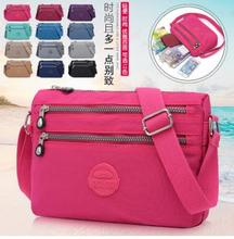 New 12-color genuine nylon leisure bag and fashion multi-functional