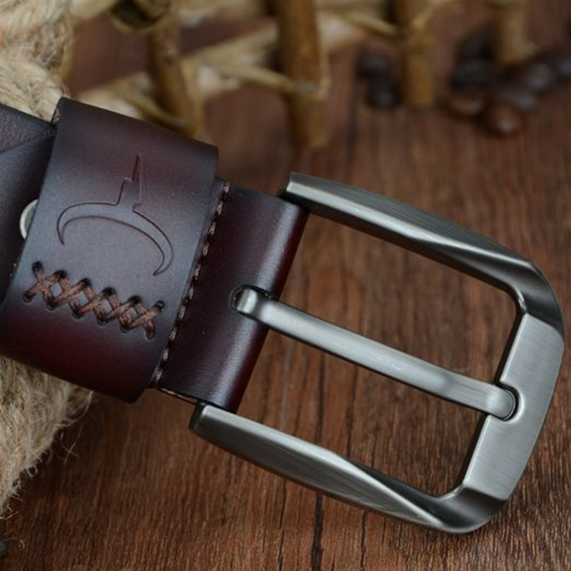 Vintage Style Genuine Leather Belt 3