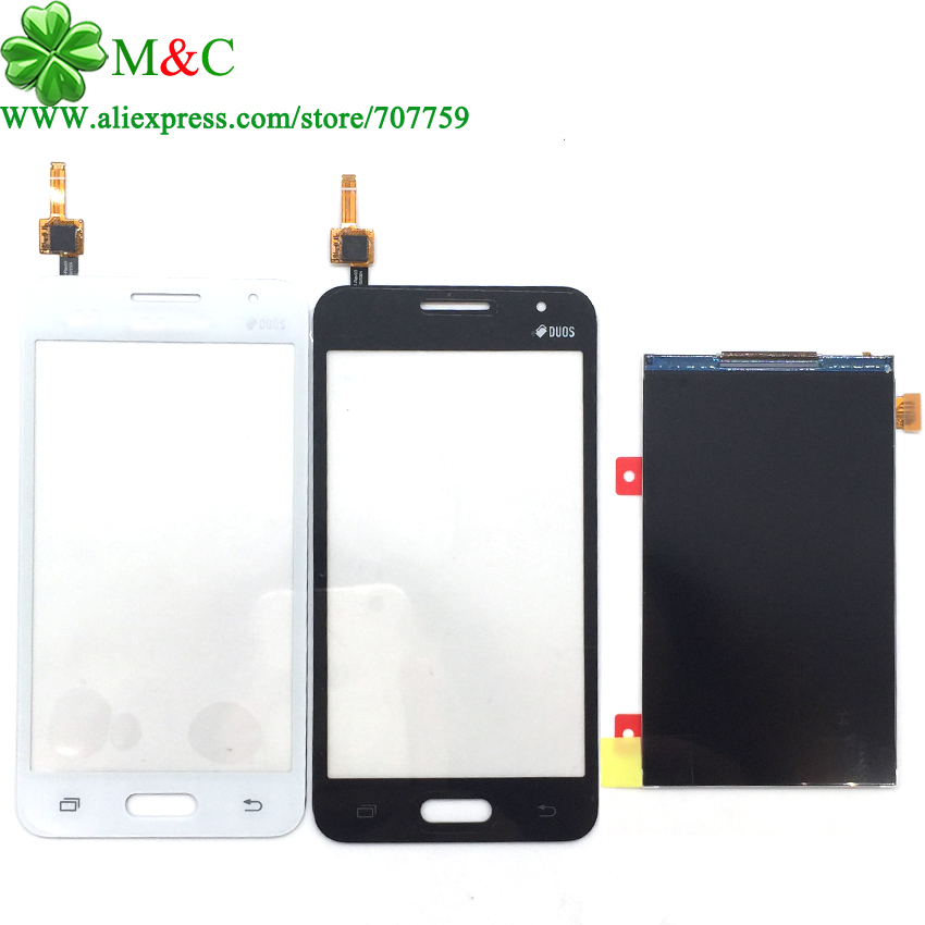 OGS G355 LCD Touch Panel for Samsung Galaxy Core 2 G355 G355H G3559 G3556D LCD Display Touch Screen Digitizer Panel