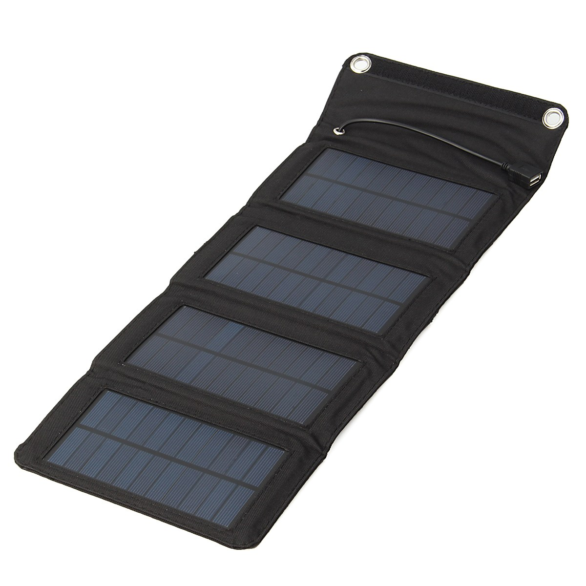 High Quality Sunpower Foldable Charger Battery Powerbank 515x192mm 5.5V PVC Fbric Solar Panel Outdoor Travel Camping tools
