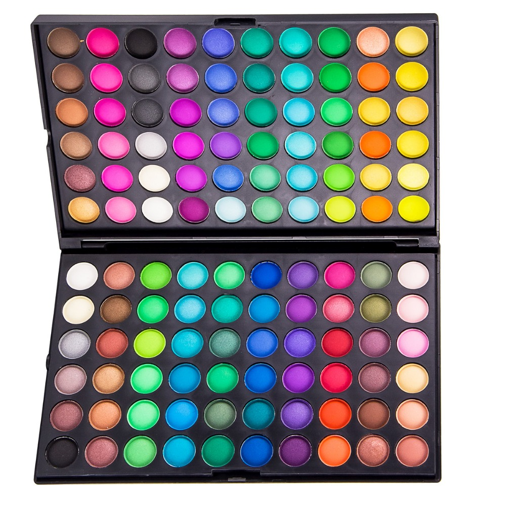 Professional 120 Color Eyeshadow Palette Makeup Pallet Pigmes